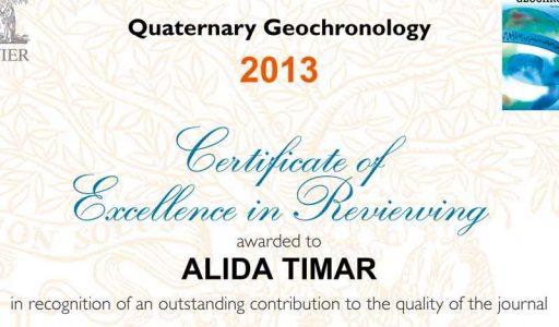 Dr. Alida Gabor i-a fost acordata diploma de excelenta