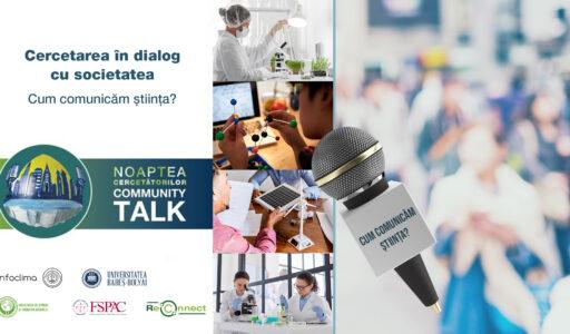 ReCoN-nect: Community Talk #2 @Cluj-Napoca
